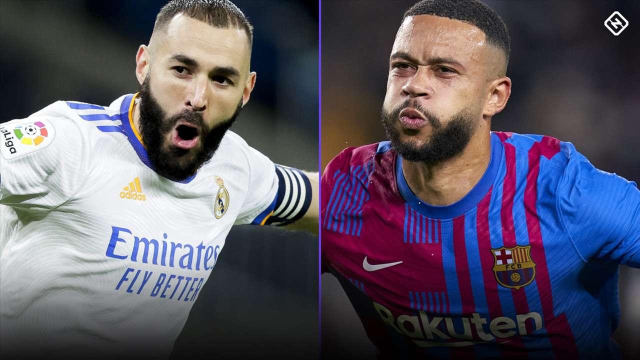 Karim Benzema - Memphis Depay - Real Madrid - Barcelona - Clasico
