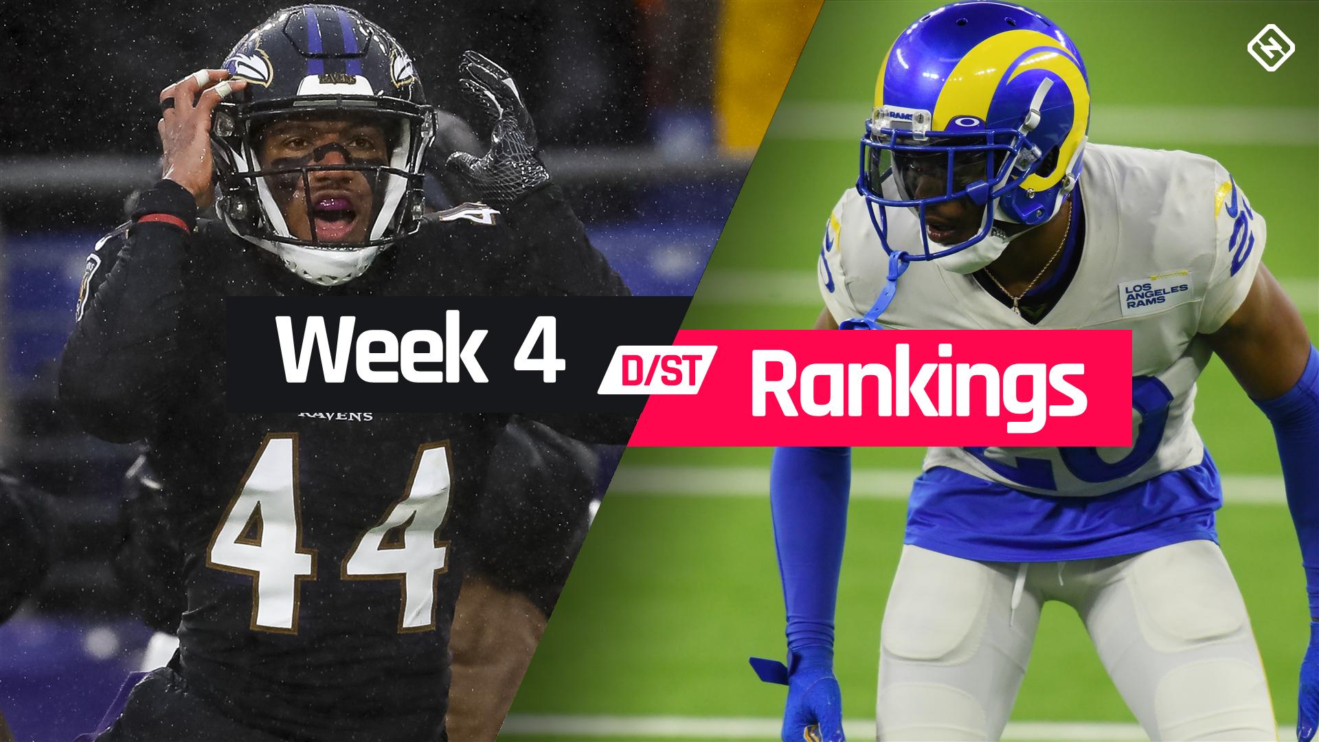 Week 4 Fantasy Football Defense Rankings Sporting News