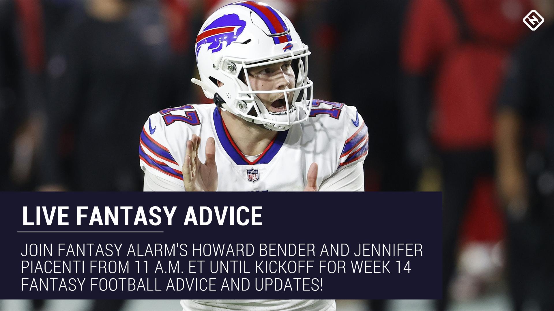 betting advice week 14 fantasy