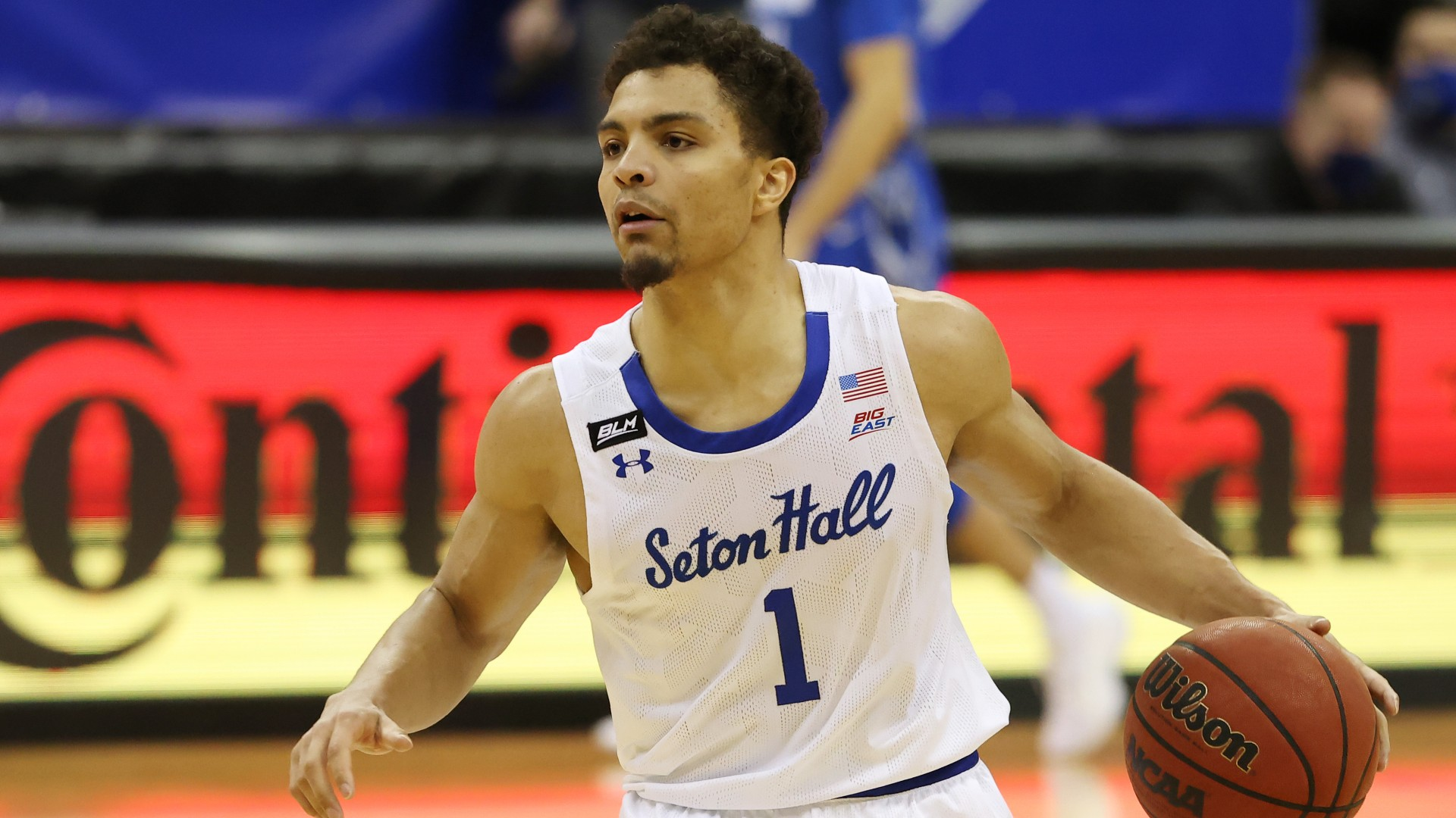 Seton Hall's Bryce Aiken boasts he 'ain't never missing' a free throw, promptly misses two