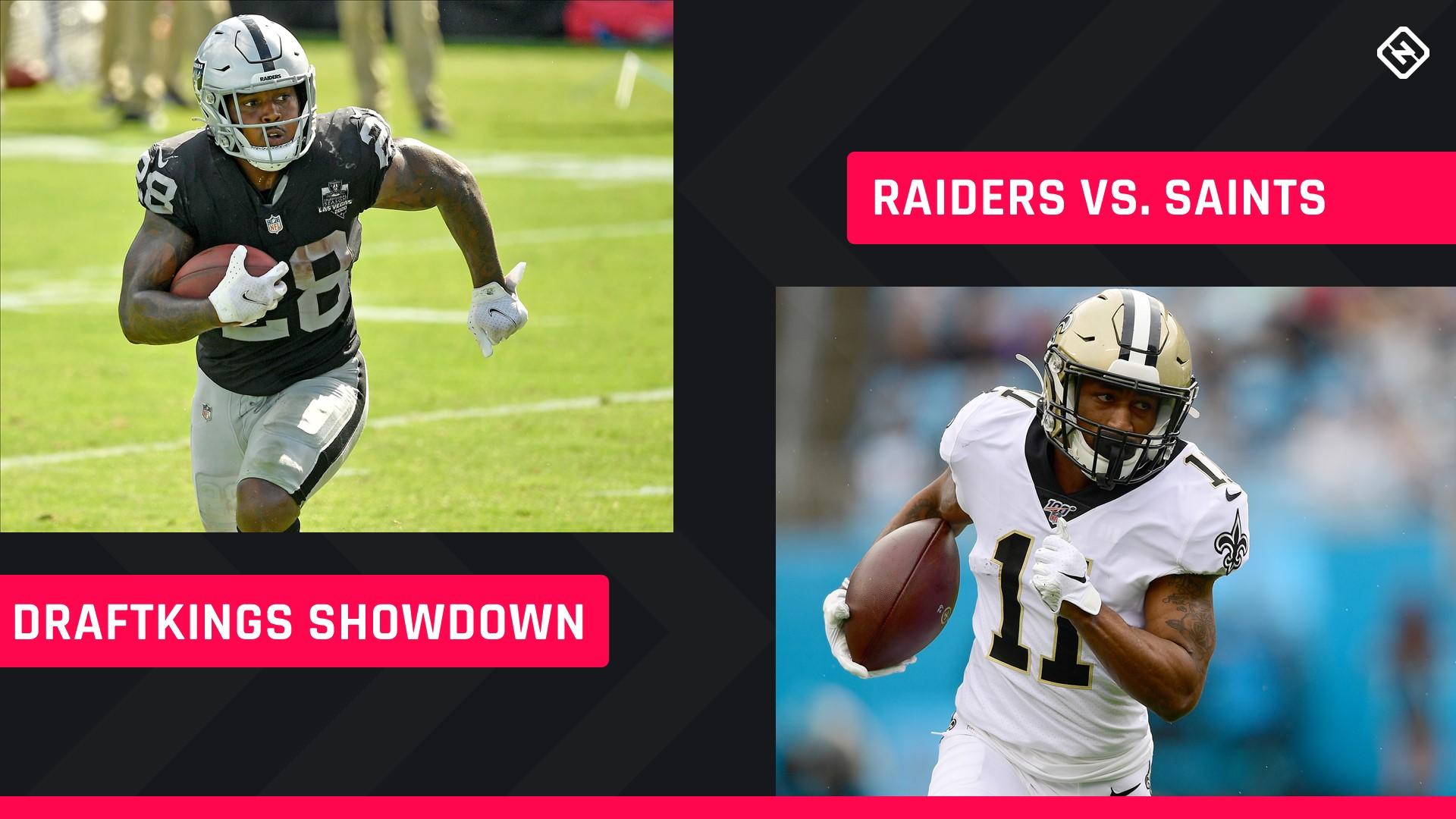Monday Night Football DraftKings Picks: NFL DFS lineup advice for Week 2 Saints-Raiders Showdown tournaments - sporting news