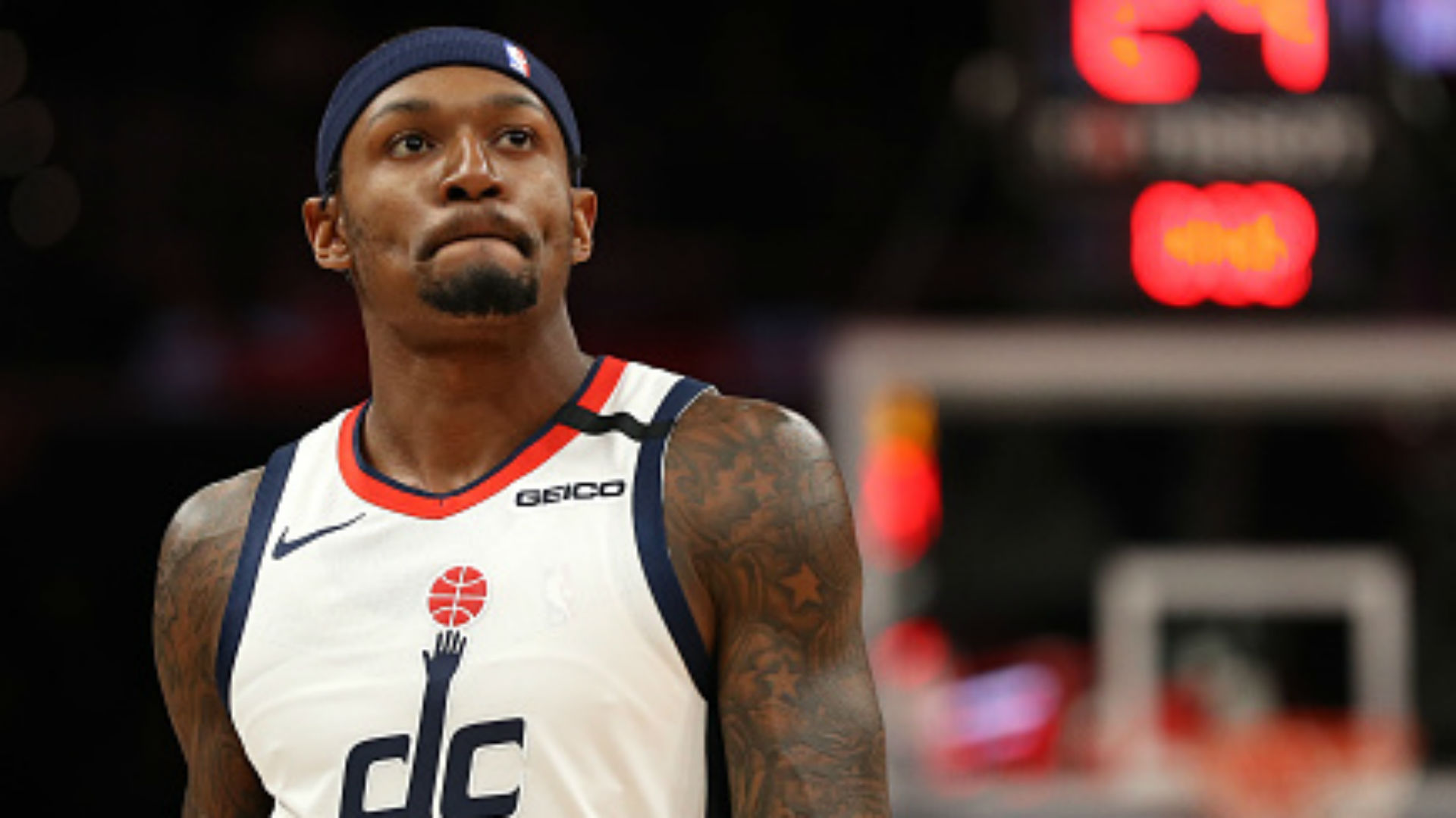 Bradley Beal looked miserable on Wizards bench, prompting flood of empathy from Twitter