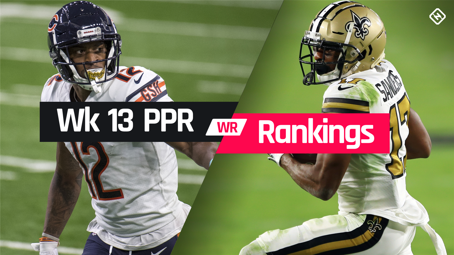 Week 13 Fantasy WR PPR Rankings: Must-starts, sleepers, potential busts