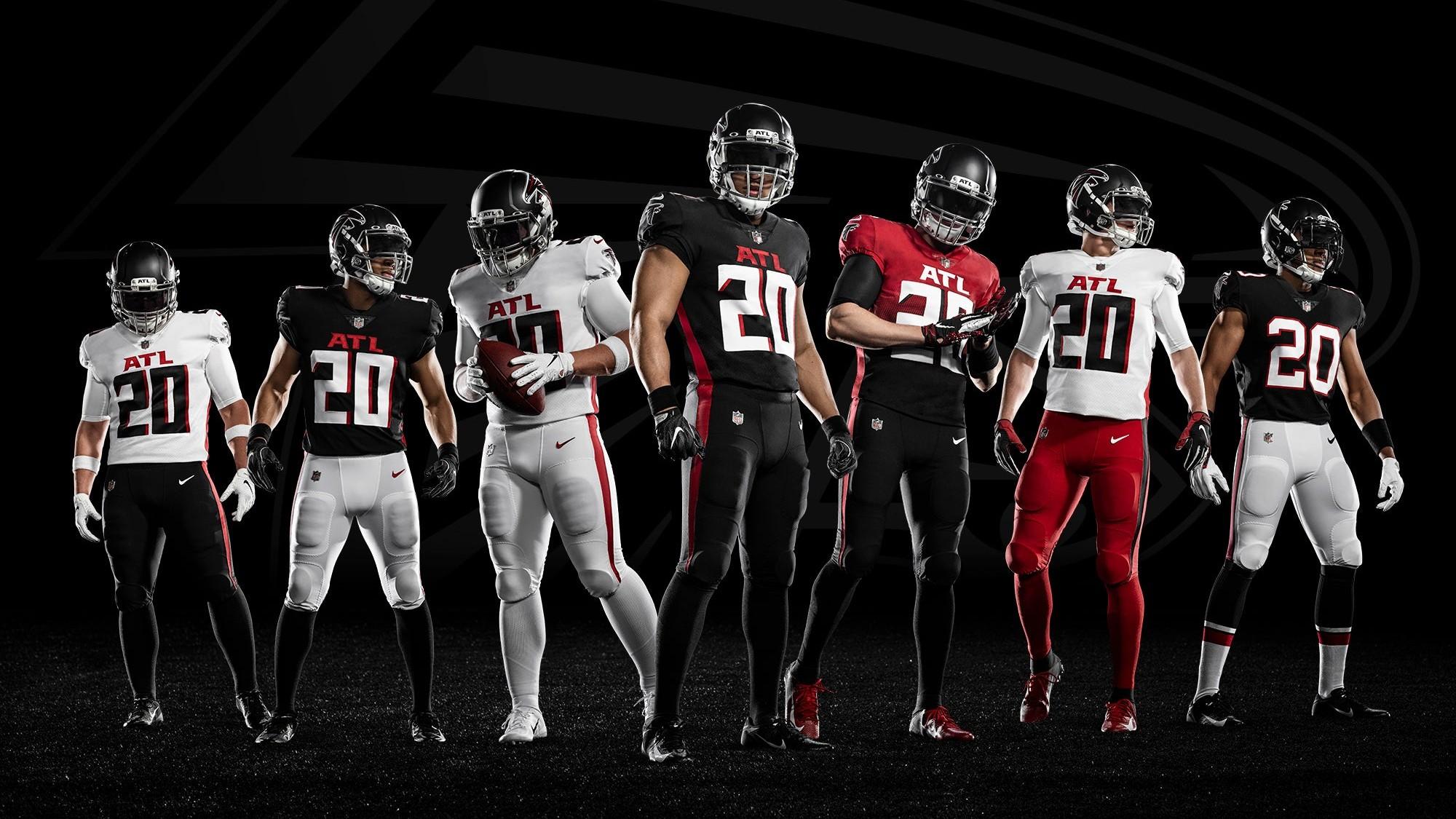 falcons uniforms falcons ftr