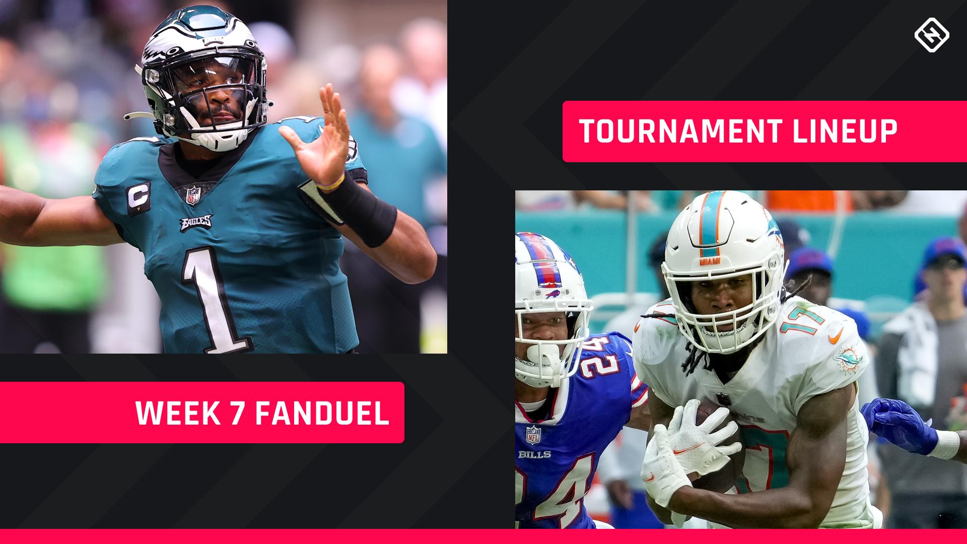 FanDuel Picks Week 7: NFL DFS lineup advice for daily fantasy football GPP tournaments