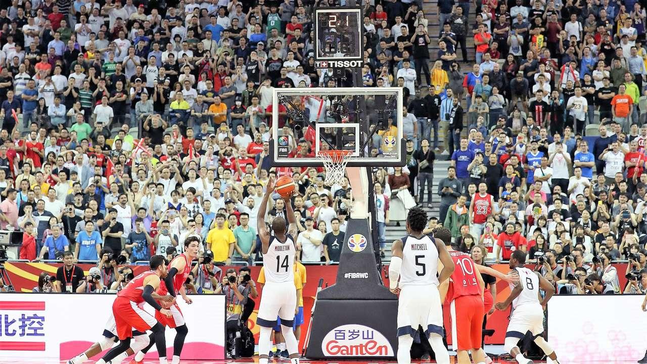 FIBA World Cup USA vs Turkey Khris Middleton