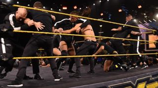 NXT Undisputed Era - Imperium brawl
