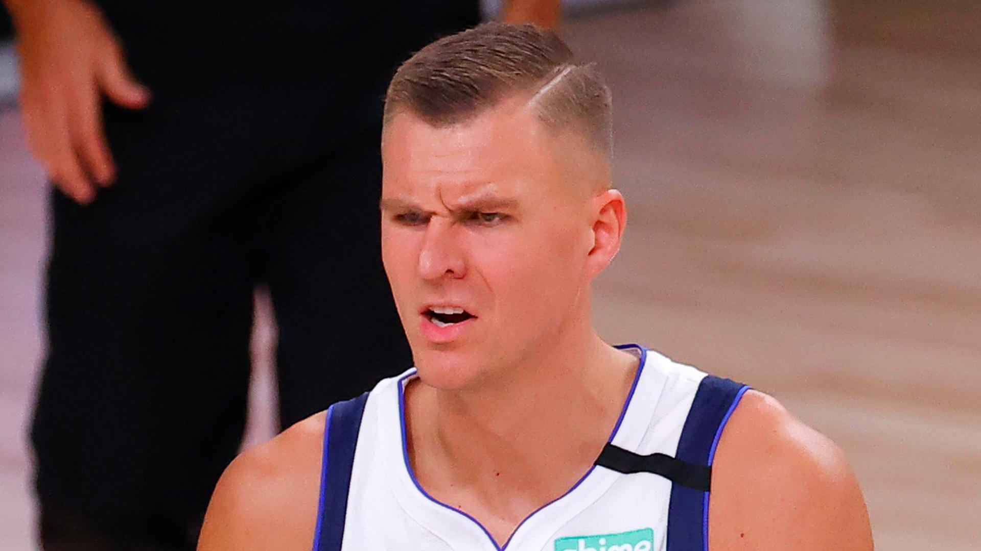 Kristaps Porzingis trade rumors: Mavericks gauging trade interest for star