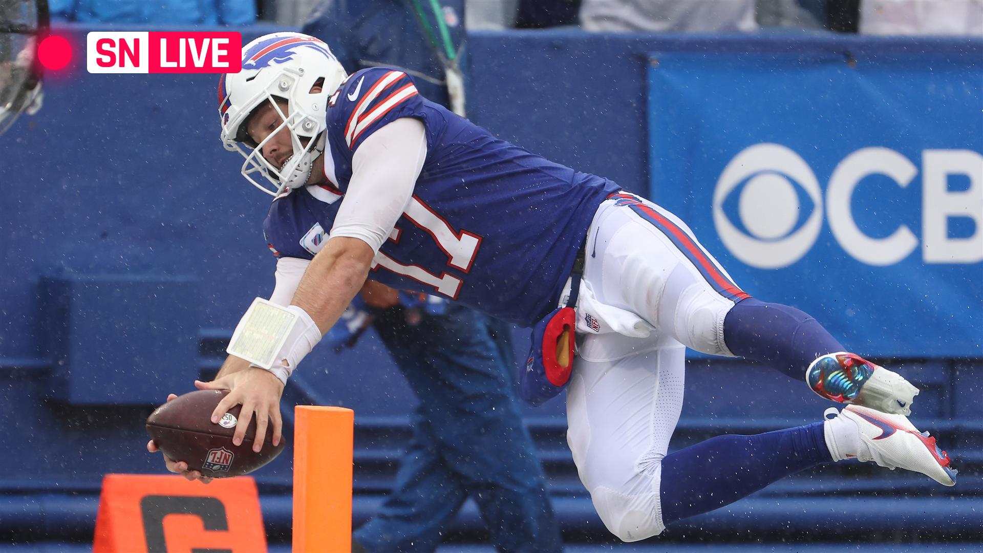 Bills vs. Chiefs reside rating, updates, highlights from NFL 'Sunday Night Football' recreation thumbnail