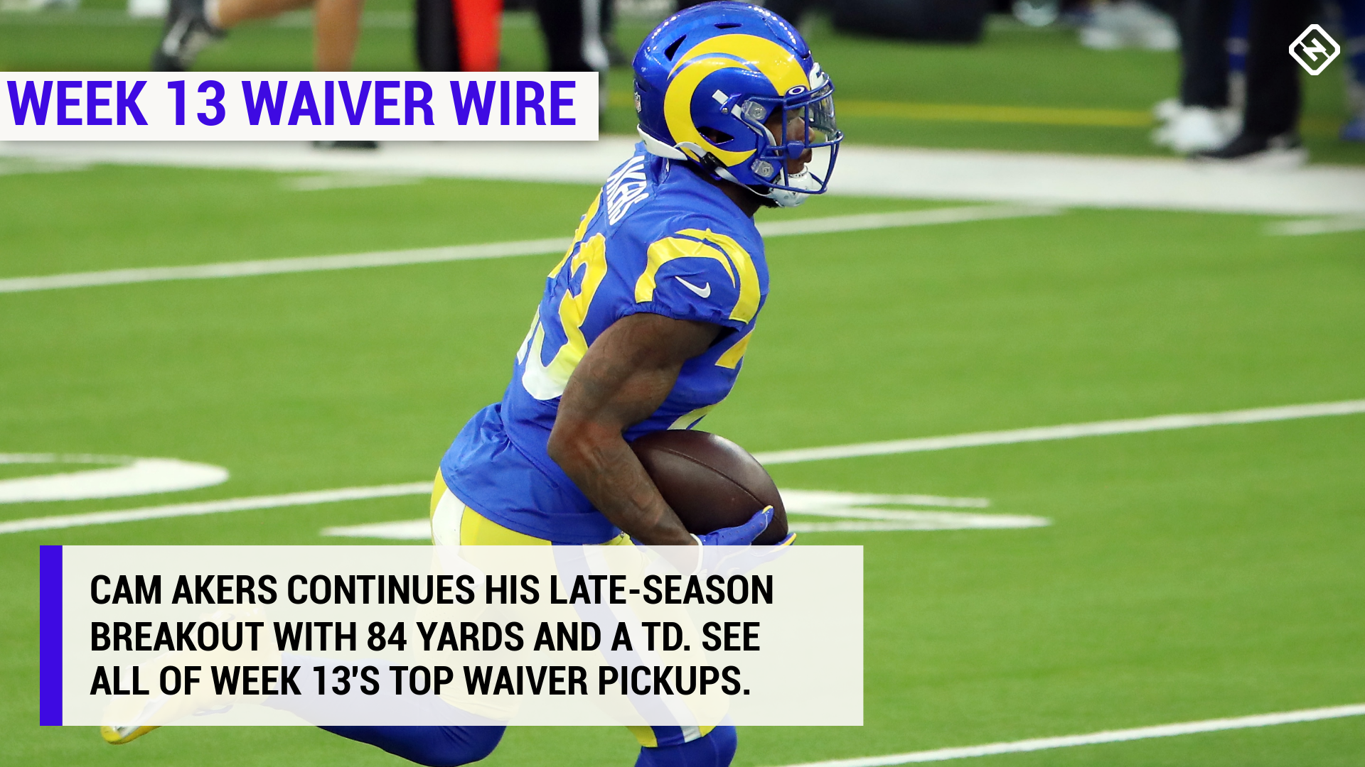 Best fantasy football waiver wire pickups for Week 13 1