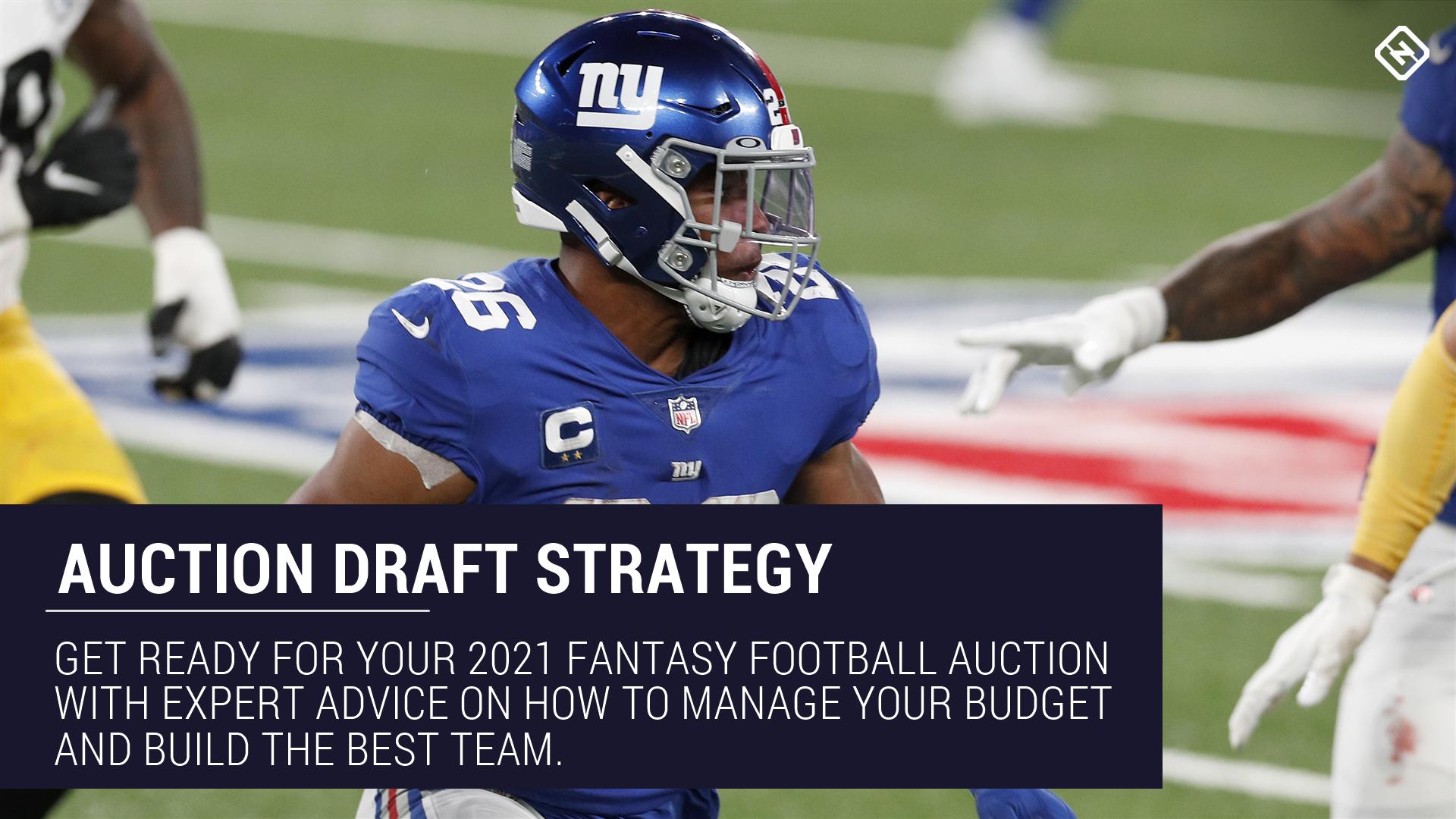 Consejos de subastas de Fantasy Football 2021: los mejores consejos estratégicos para sacar el máximo partido a tu draft