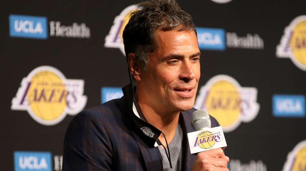 Rob Pelinka Los Angeles Lakers