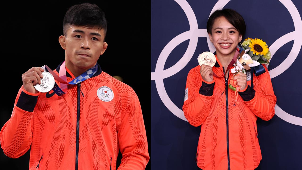 東京五輪8月2日、銀メダルの文田健一郎、銅メダルの村上茉愛