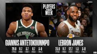 Milwaukee Bucks Giannis Antetokounmpo Los Angeles Lakers LeBron James