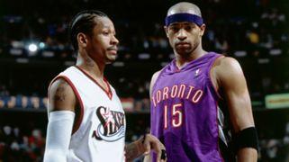 Vince Carter Toronto Raptors Allen Iverson Philadelphia 76ers