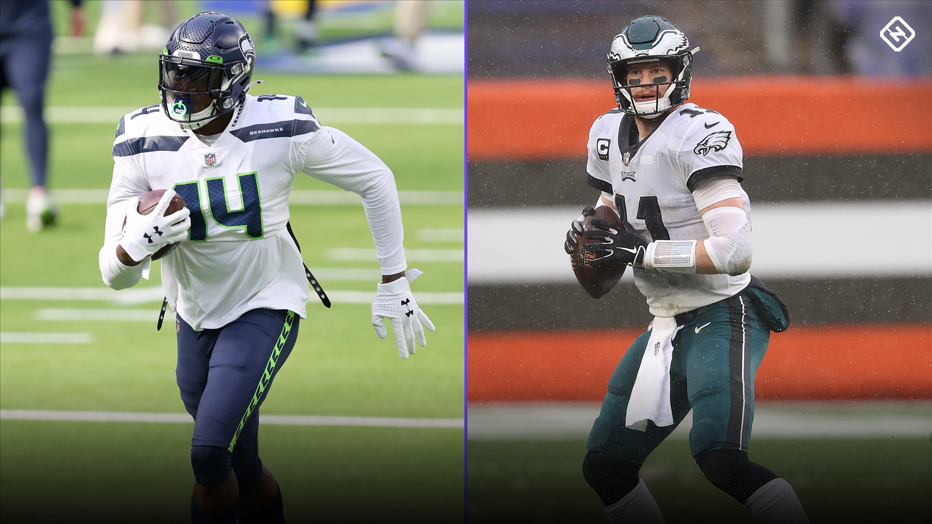 Seahawks' DK Metcalf, DeeJay Dallas say Eagles should bench Carson Wentz and start Jalen Hurts