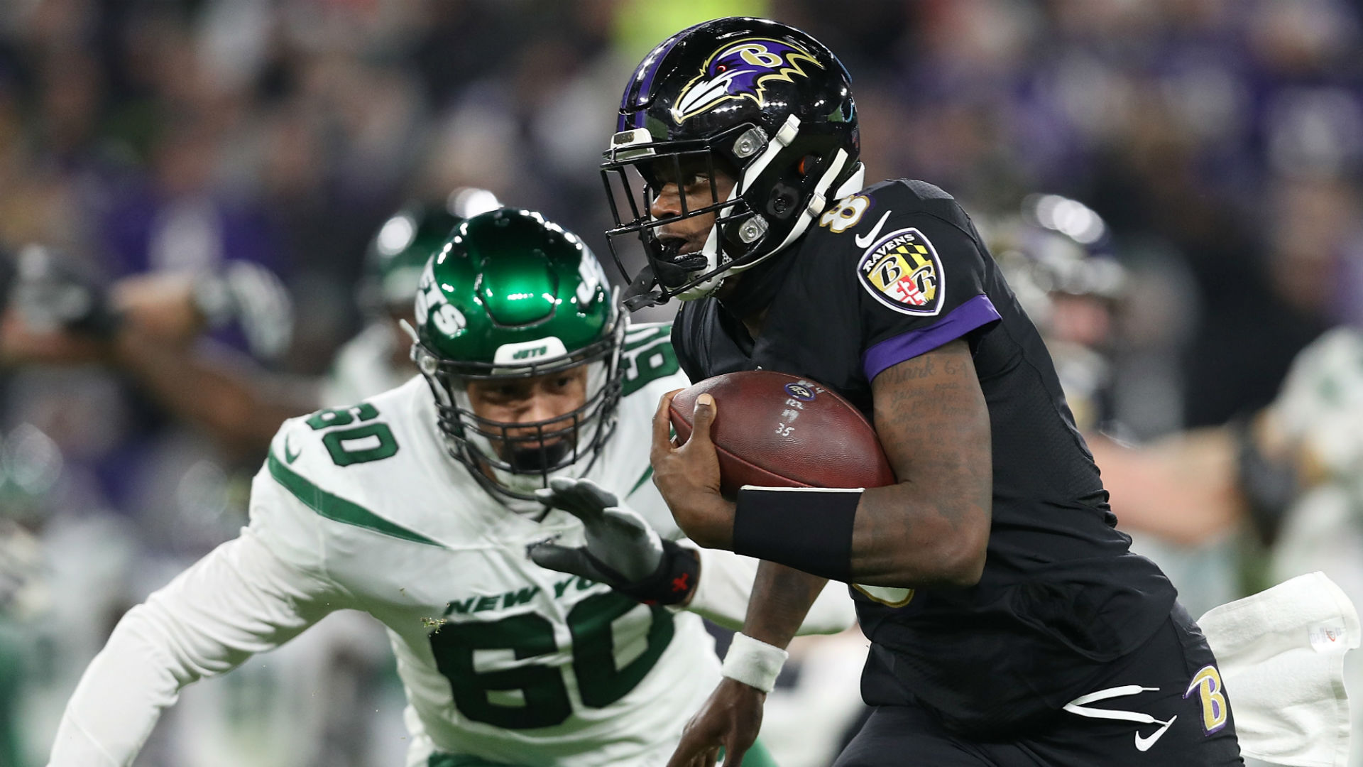 Lamar Jackson's latest MVP performance boosts Ravens' Super Bowl 54 odds
