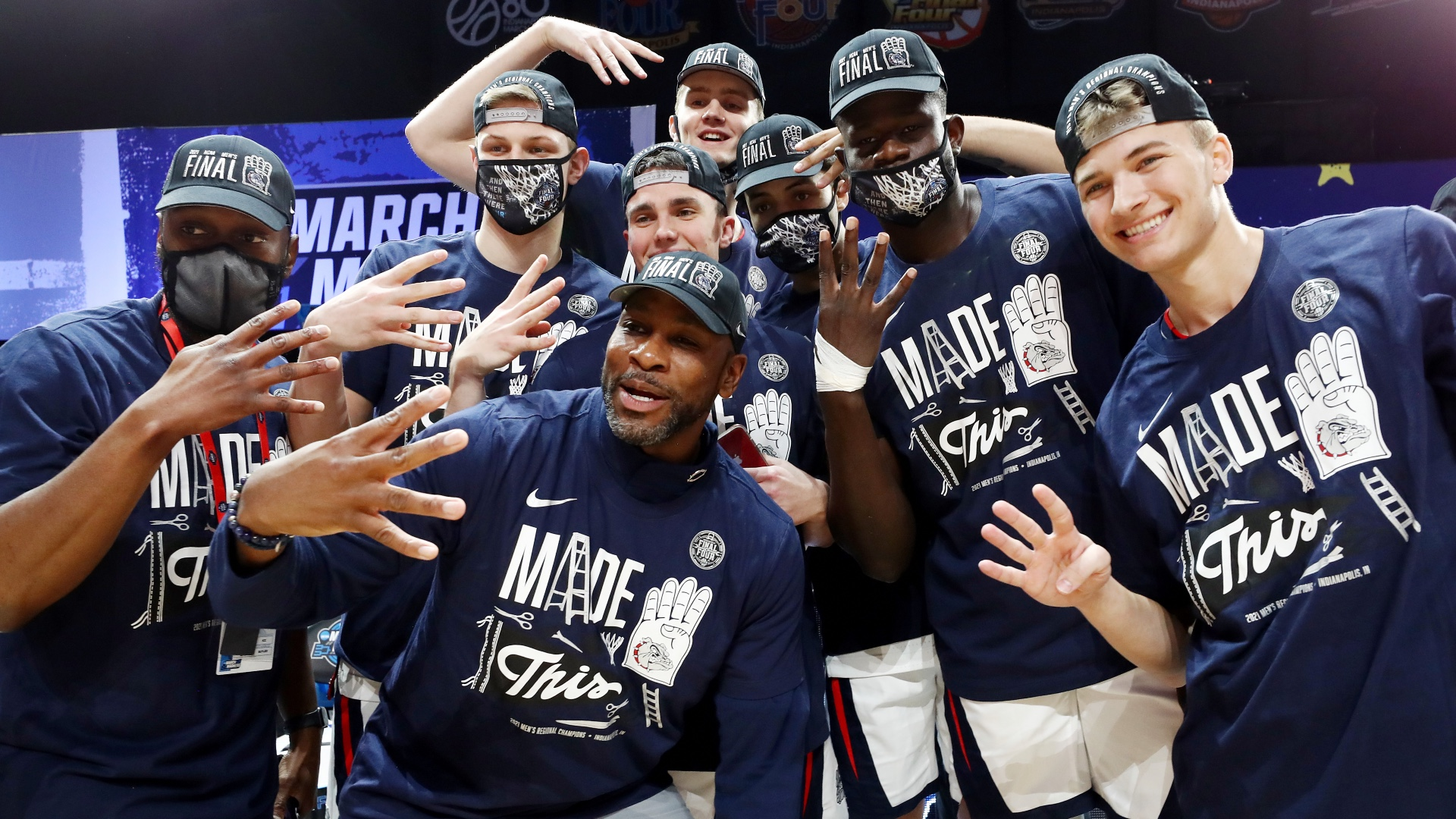 Qualifying teams to win everything from the Final Four, from the Zags to the Bruins