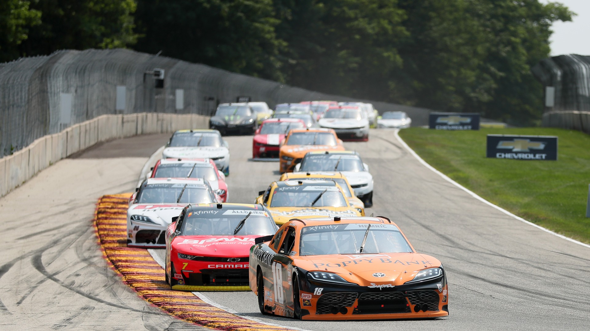 What time does the NASCAR race start today?  TV schedule, Road America race channel