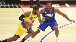 LeBron James Los Angeles Lakers Kawhi Leonard LA Clippers