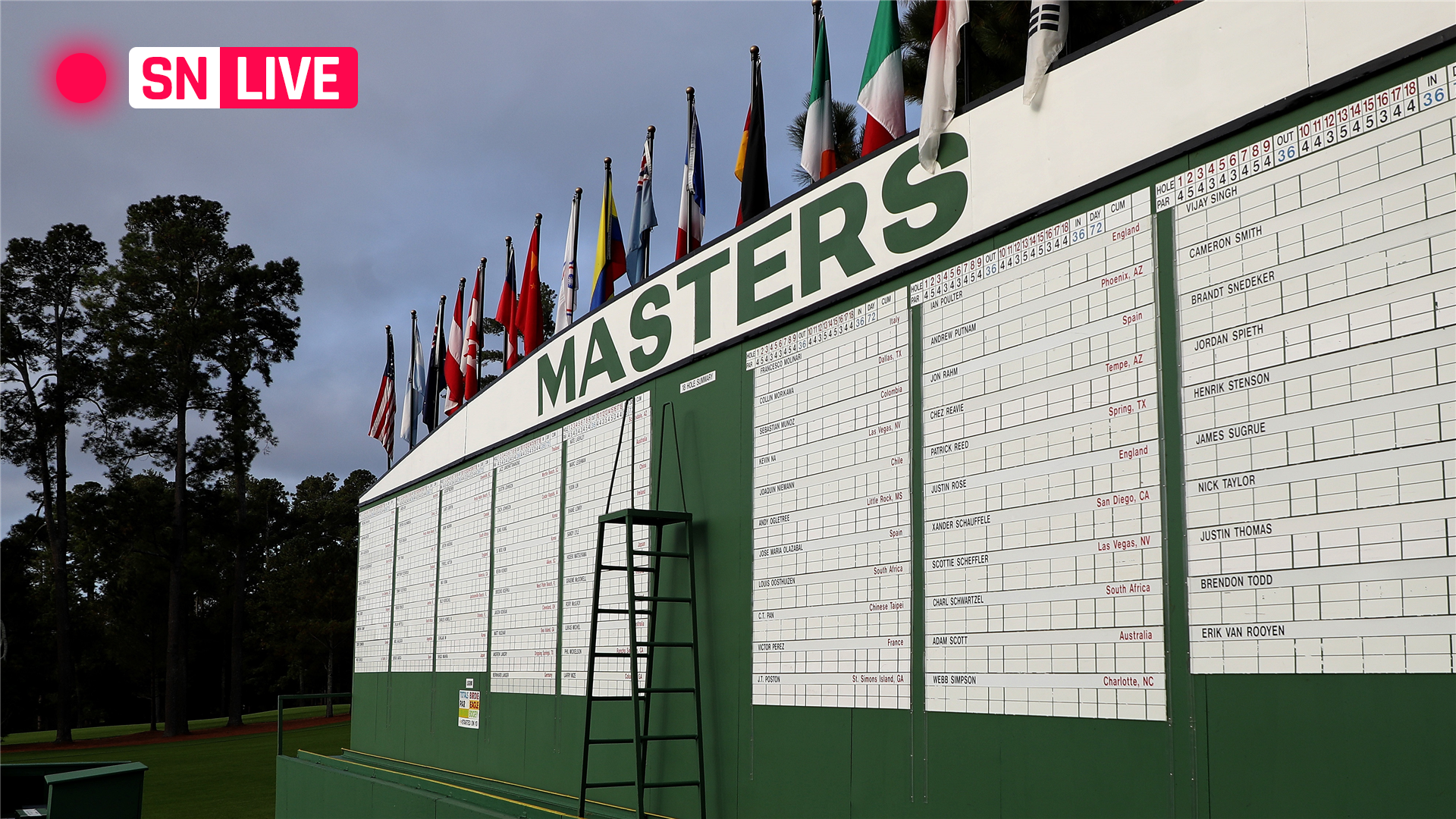 Masters Leaderboard 2021 Live Golf Scores Results From Thursday S Round 1 Sporting News