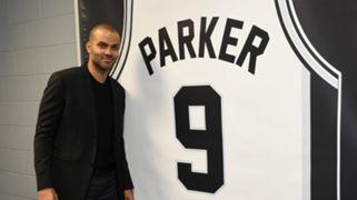 Tony Parker retired jersey