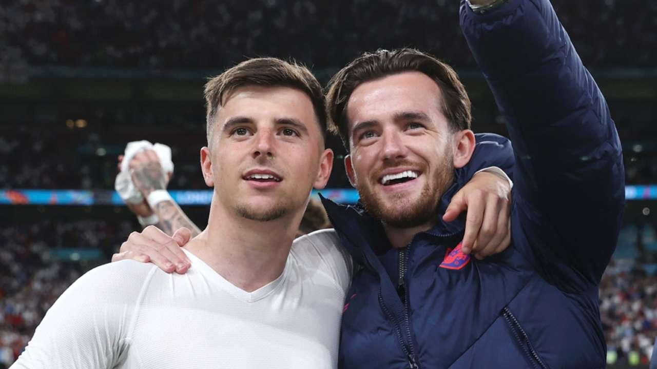 Mason Mount - Ben Chilwell - England - Euro 2021
