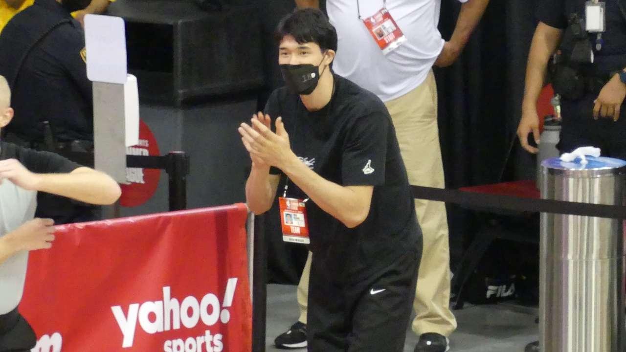 渡邊雄太 2021 MGMリゾーツ・NBAサマーリーグ Yuta Watanabe
