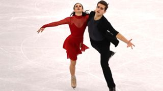 Marie-Jade Lauriault and Romain Le Gac of France