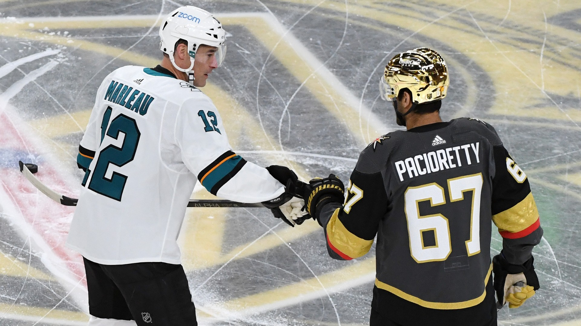 The sports world has congratulated Patrick Marleau on setting an NHL record in the games he has played