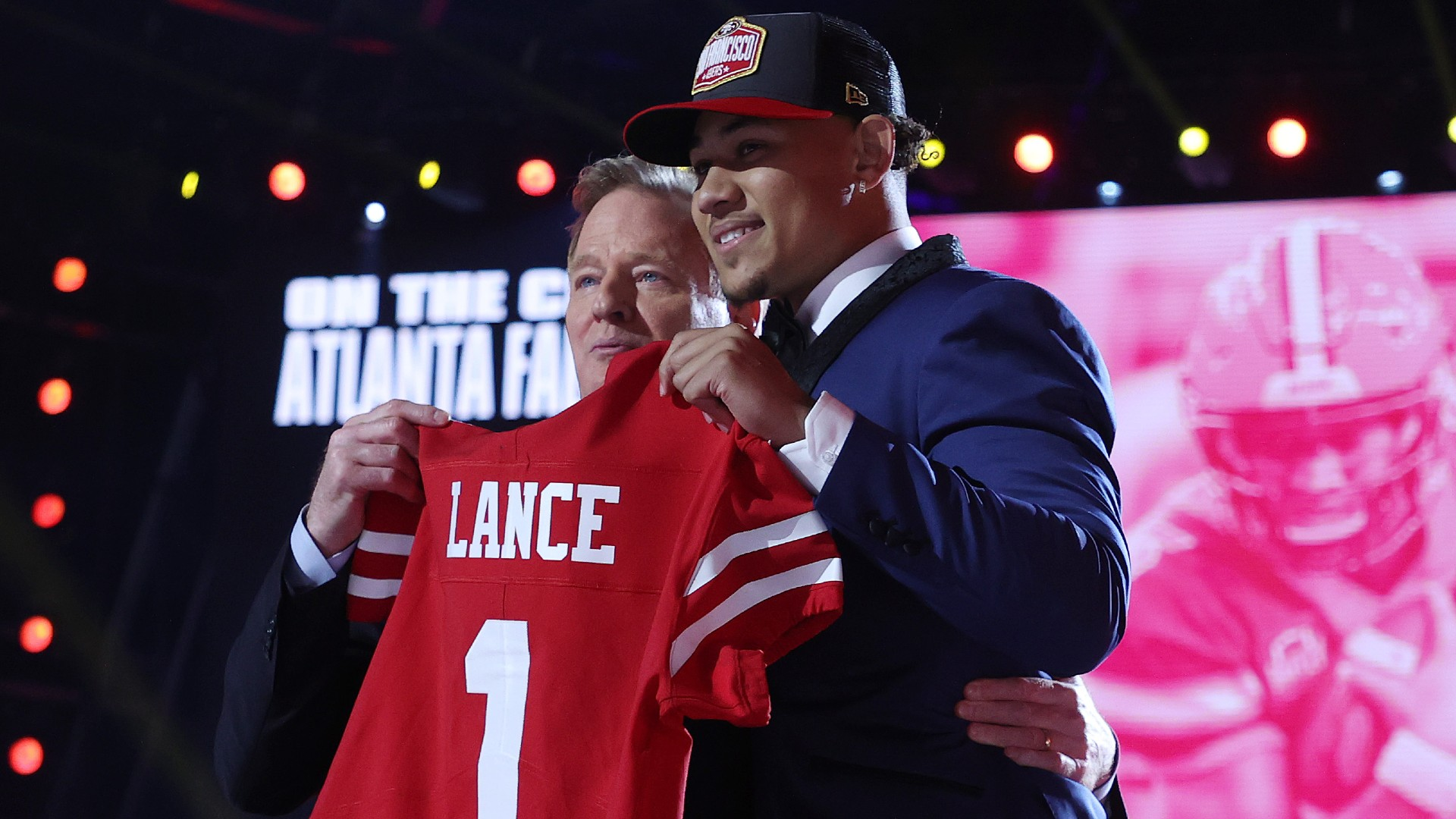 Kyle Shanahan explains why 49ers picked Trey Lance over Mac Jones in 2021 NFL Draft