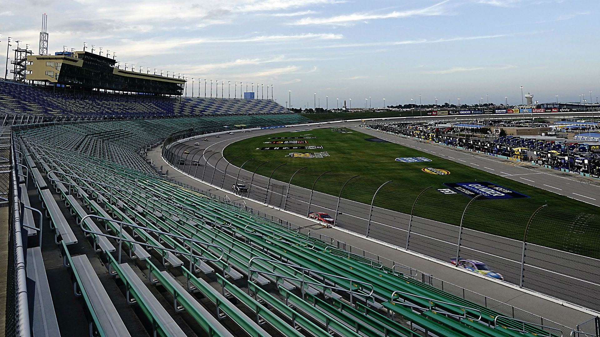 Who won the NASCAR race last night? Full results from Super Start Batteries 400 at Kansas 1