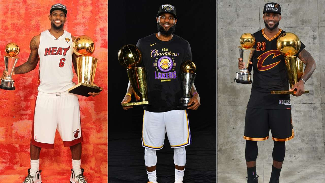 LeBron James Miami Heat, Cleveland Cavaliers. Los Angels Lakers