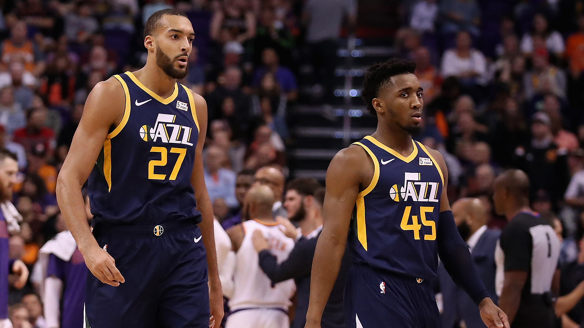 Rudy Gobert says relationship with Donovan Mitchell has improved ...
