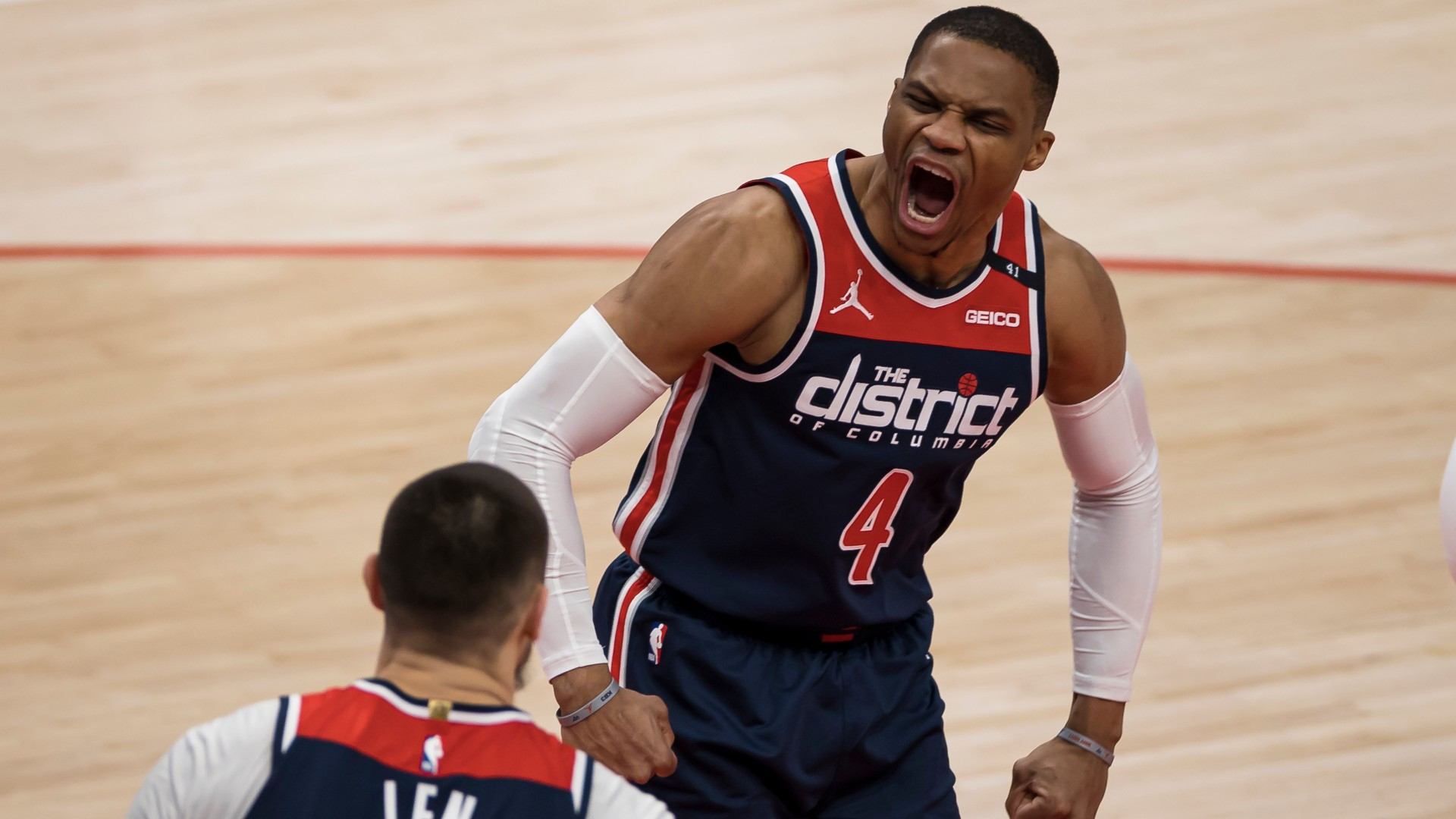 Wizards' Russell Westbrook matches all-time greats while carrying the team to play-in spot