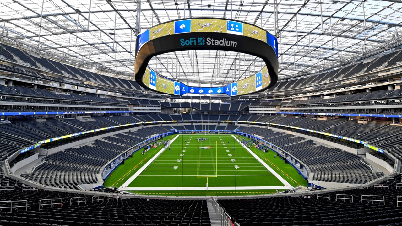 inside sofi stadium cost capacity more to know about los angeles rams chargers new home sporting news inside sofi stadium cost capacity