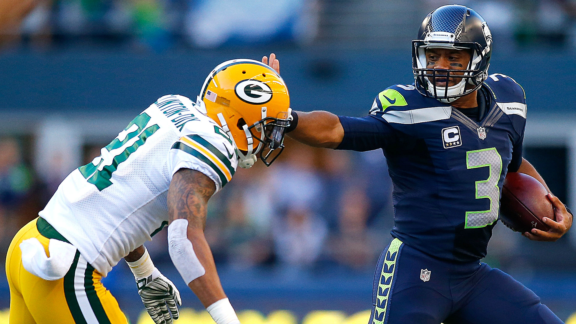 packers seahawks betting line