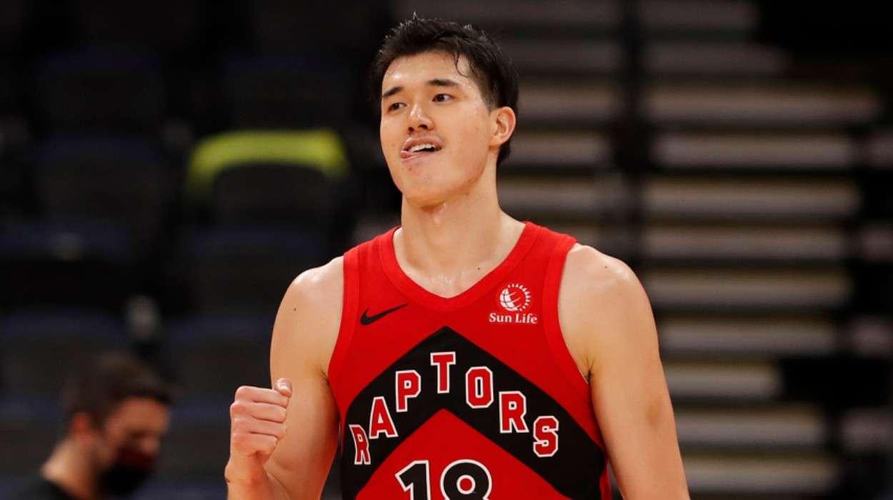 Yuta Watanabe Toronto Raptors