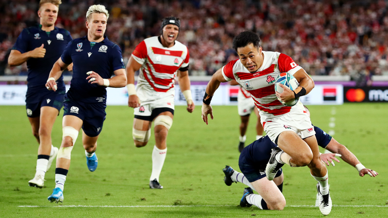 Rugby World Cup 2019 Japan vs Scottland