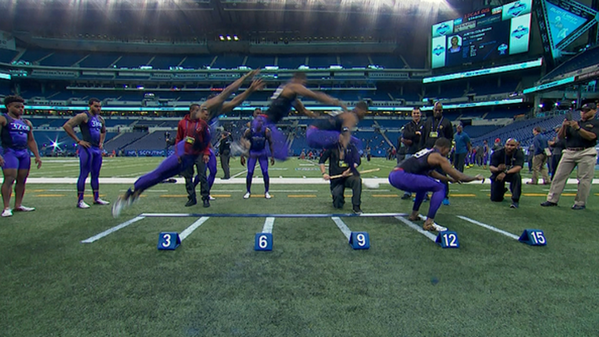 NFL Combine records: Top 40 times