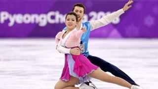 ura Min and Alexander Gamelin of Korea