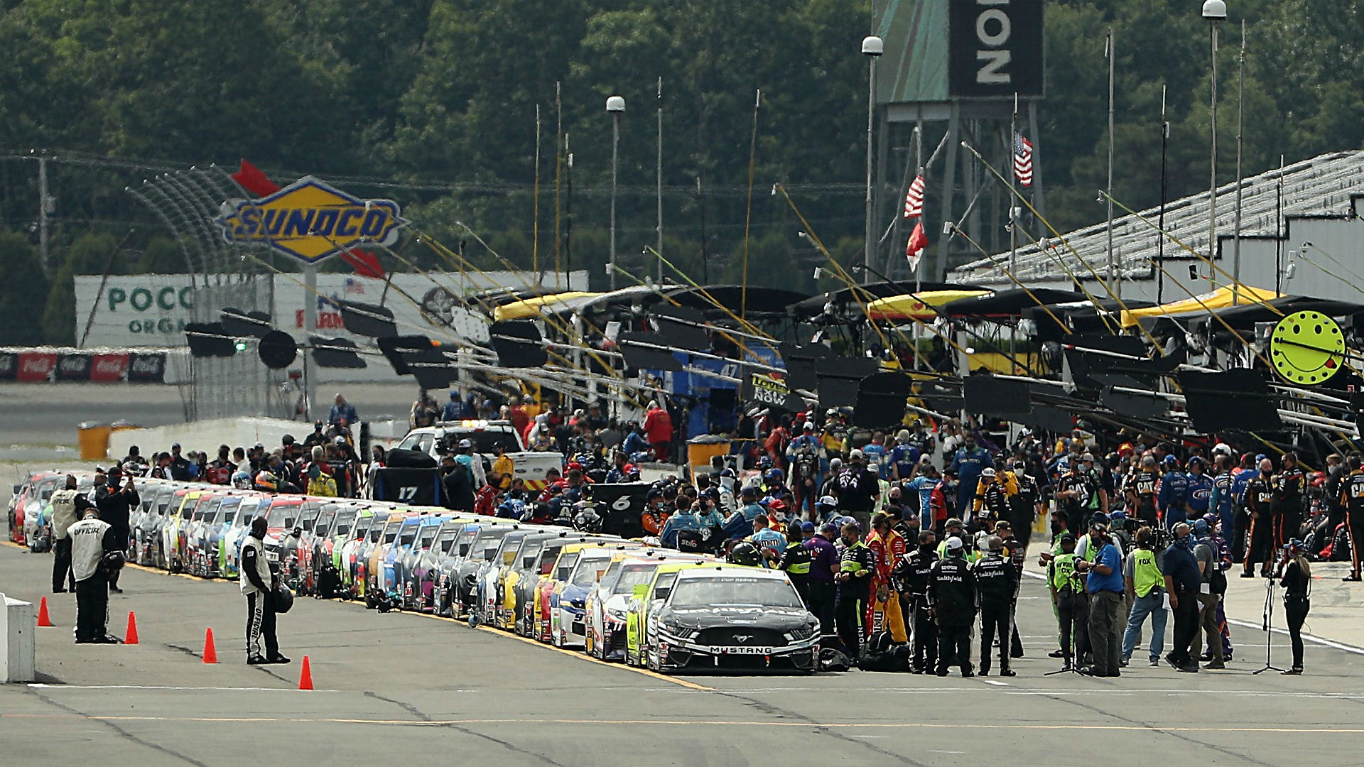 Photo of Who won the NASCAR race yesterday? Full results for Pocono race | sportingnews