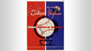 1964 World Series program
