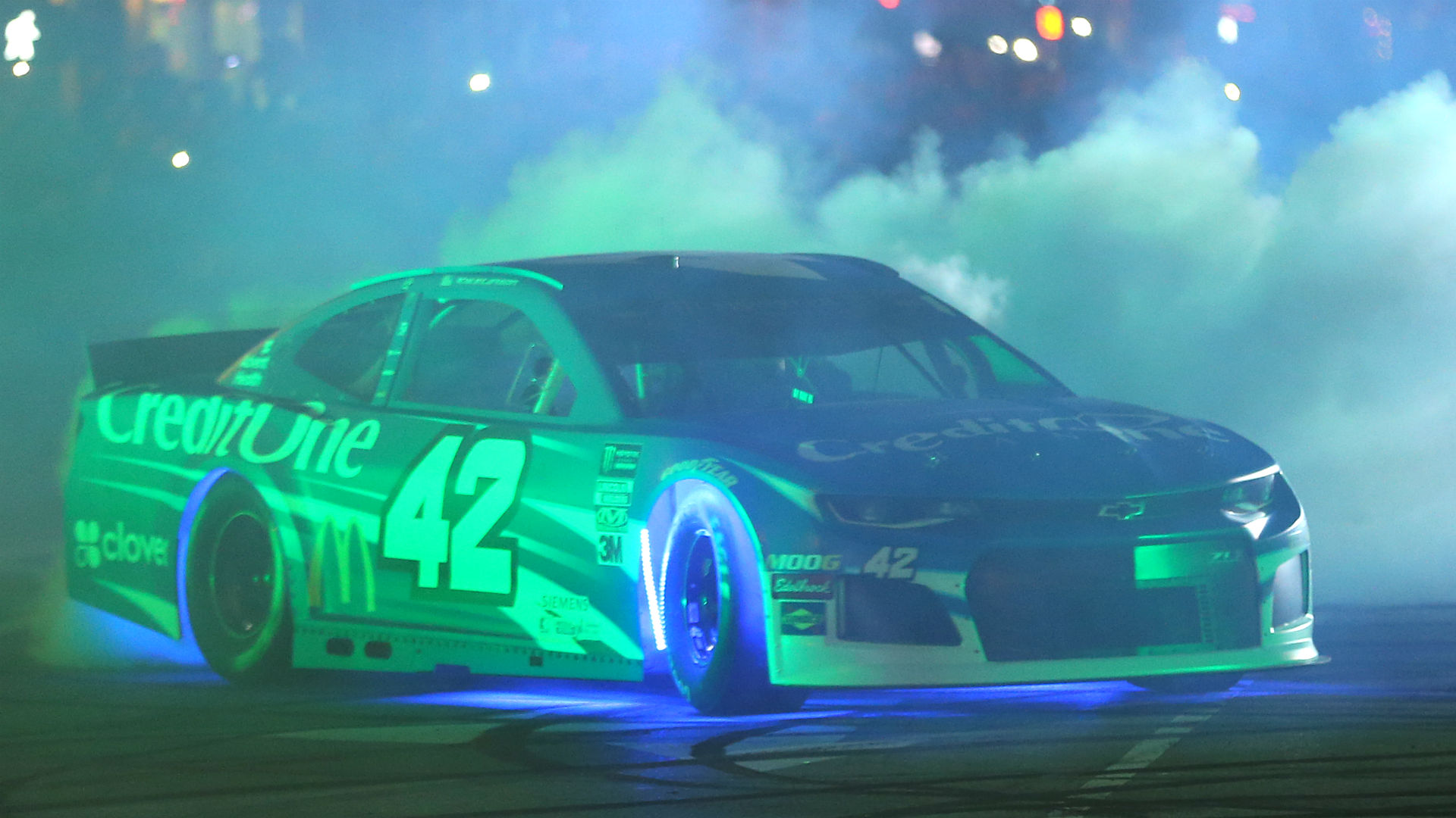NASCAR will use underglow lights on cars for the All-Star Race at Bristol 1