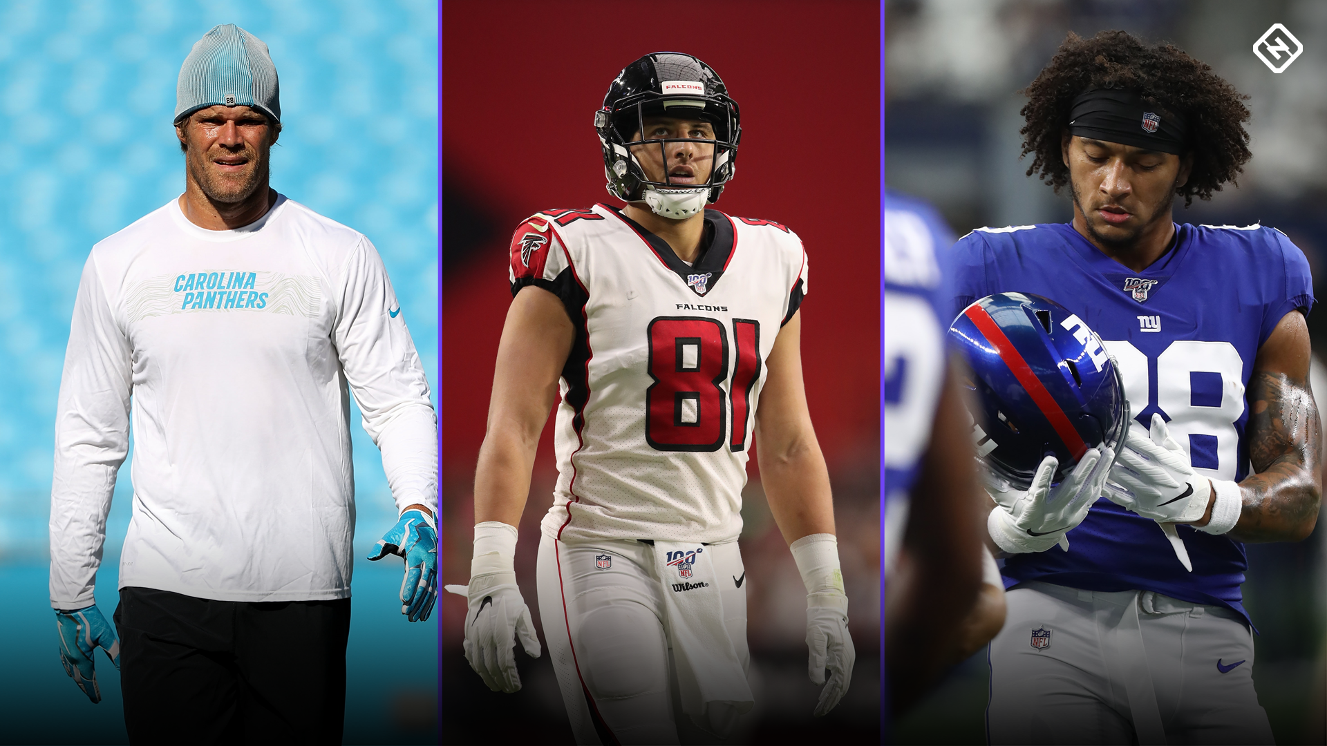Fantasy Injury Updates: Greg Olsen, Austin Hooper, Evan Engram, more TEs affect Week 14 start 'em, sit 'em calls
