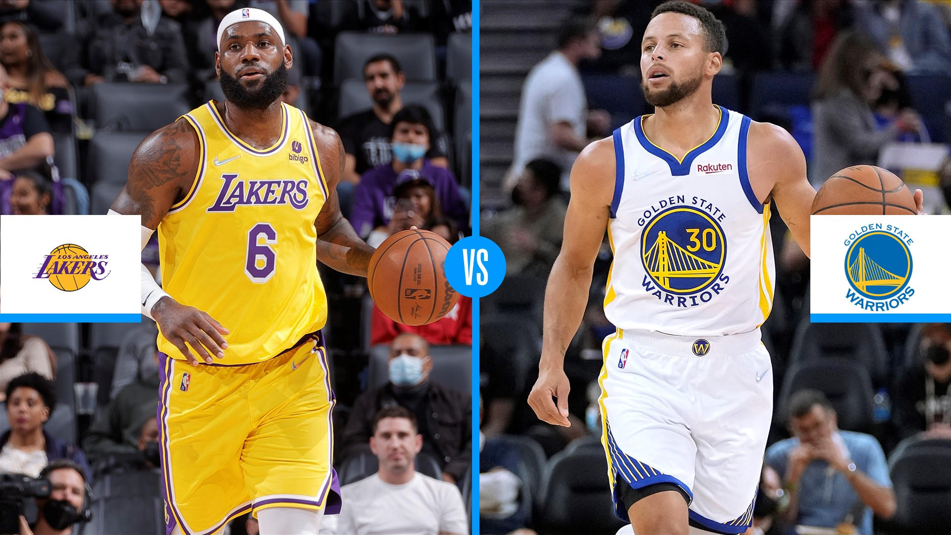 Lakers vs. Warriors live score, updates, highlights from 2021 NBA Opening Night game