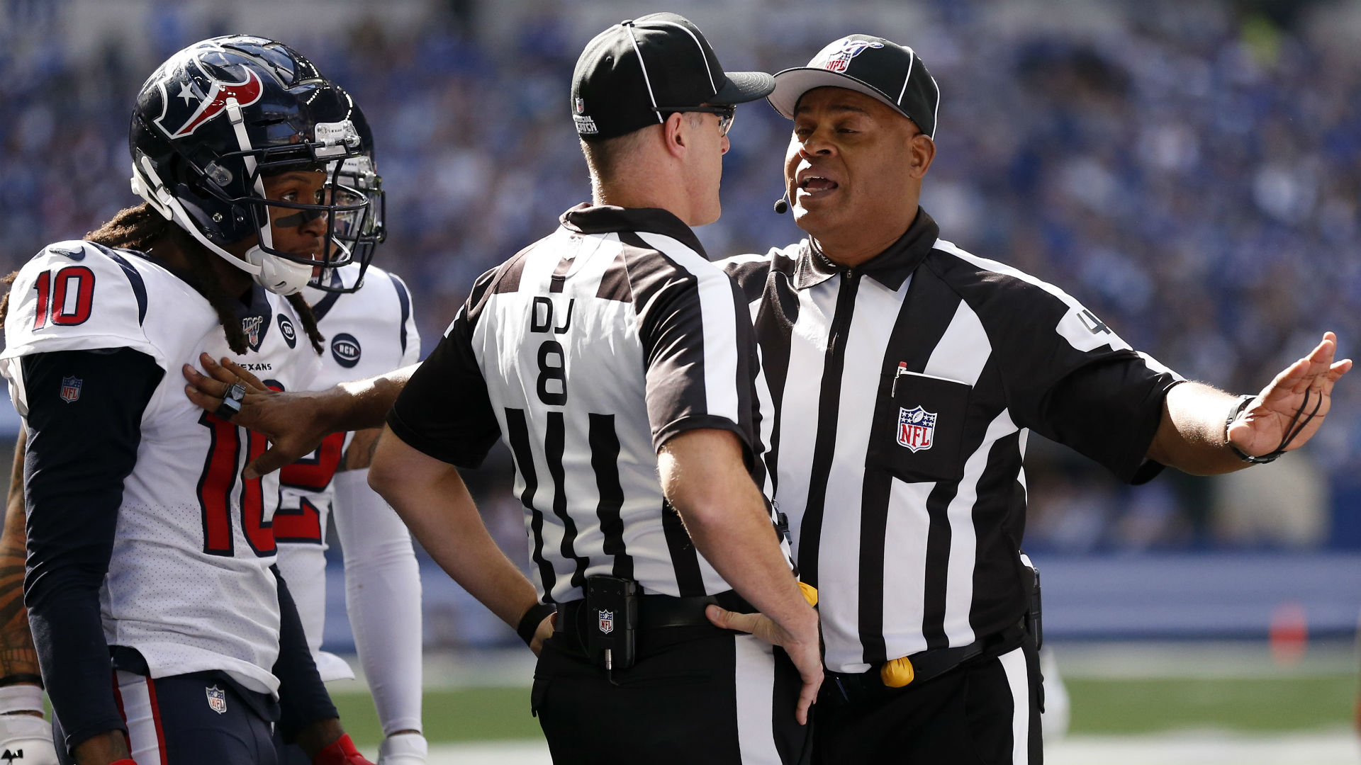 NFL (again) refuses to reverse badly missed pass interference call, this time in Texans vs. Ravens