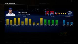 MLB The Show 16 Kris Bryant ratings