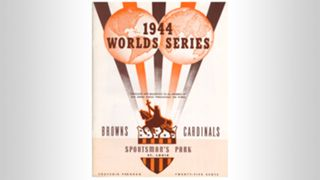 1944 World Series program