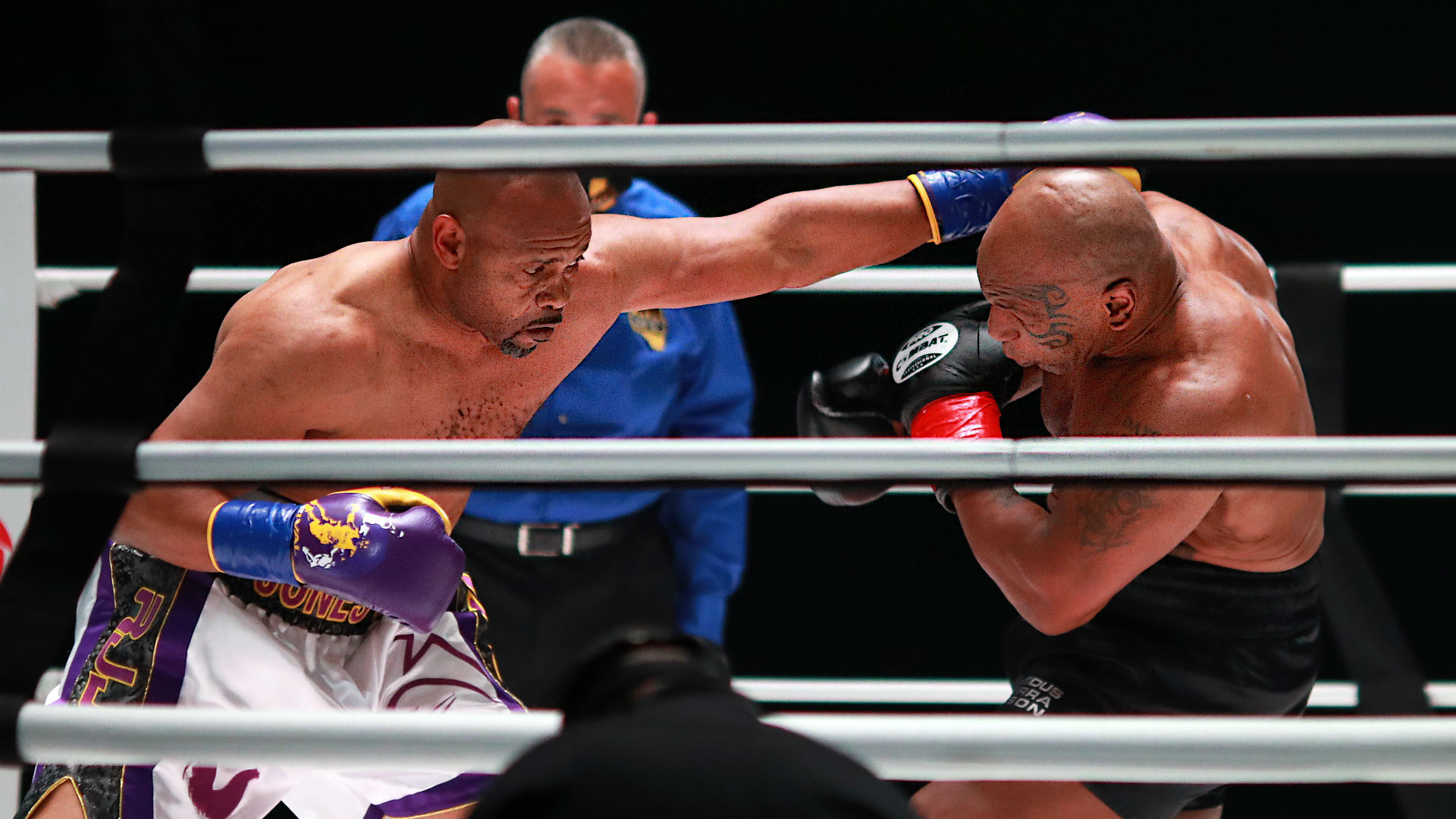 Mike Tyson vs. Roy Jones Jr. fight results: Boxing exhibition ends in unofficial draw